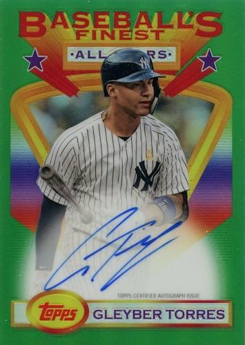 2020 Topps Baseball's Finest Flashbacks Baseball Cards 8