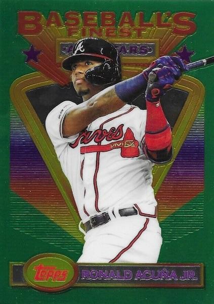 2020 Topps Baseball's Finest Flashbacks Baseball Cards 6