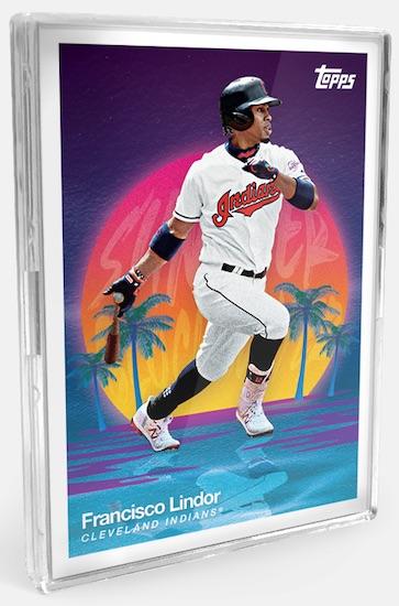 2020 Topps On Demand Set Trading Cards - MLB 3D Baseball Checklist Added 5