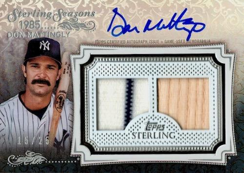 2020 Topps Sterling Baseball Cards 6