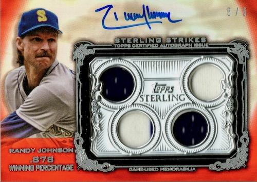 2020 Topps Sterling Baseball Cards 7