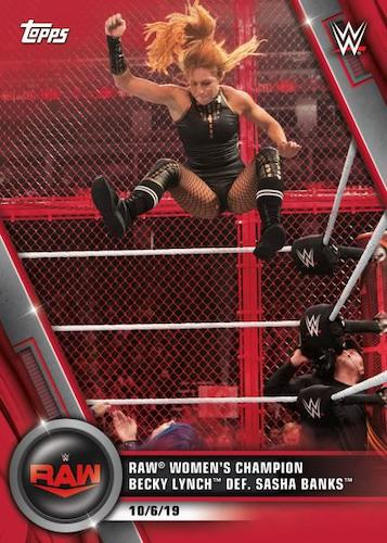 2020 Topps WWE Women's Division Wrestling Cards 1
