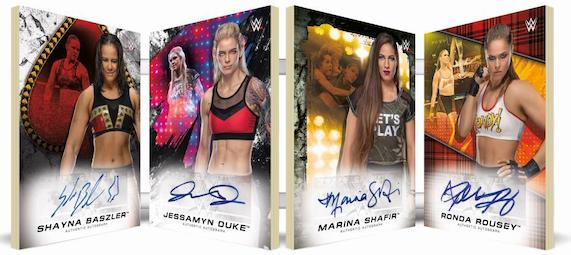 2020 Topps WWE Women's Division Wrestling Cards 4