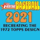 2021 Topps Heritage Baseball Cards