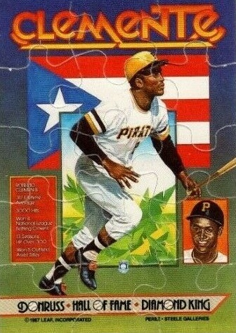 Complete Donruss Hall of Fame Diamond King Puzzles Checklist 1