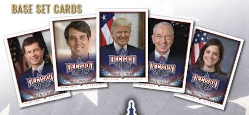 Decision 2020 Political Trading Cards 1