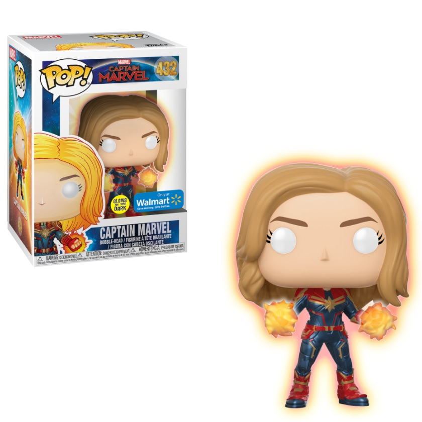 Funko Pop Captain Marvel Checklist Gallery Exclusives List Variants Info Captain marvel joins the surviving superheroes in avengers endgame (image: funko pop captain marvel checklist