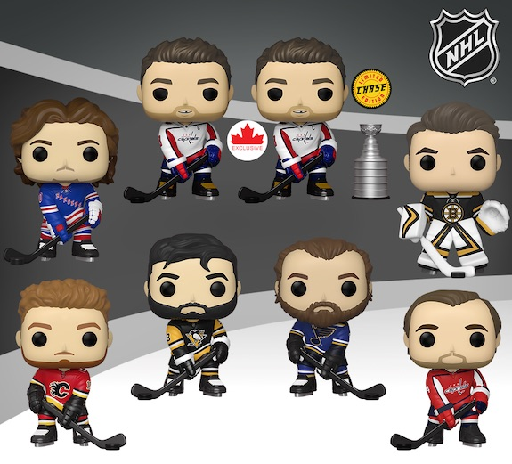 Ultimate Funko Pop NHL Hockey Figures Checklist and Gallery 72