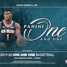 2019-20 Panini One and One Basketball Cards