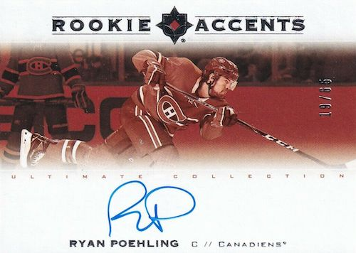 2019-20 Ultimate Collection Hockey Cards 12