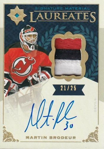 2019-20 Ultimate Collection Hockey Cards 13