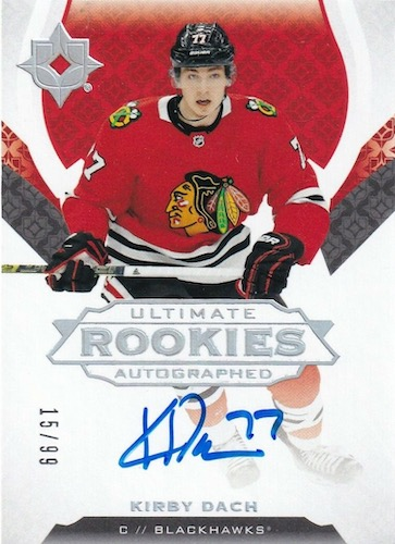 2019-20 Ultimate Collection Hockey Cards 9