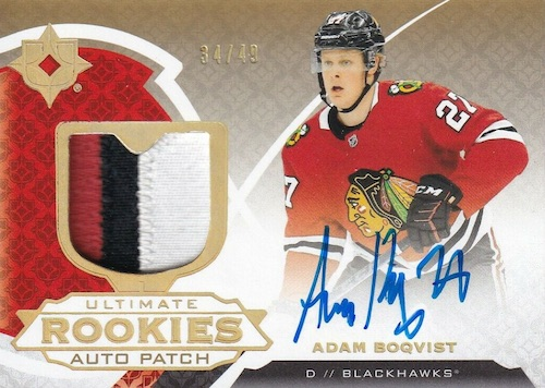 2019-20 Ultimate Collection Hockey Cards 11