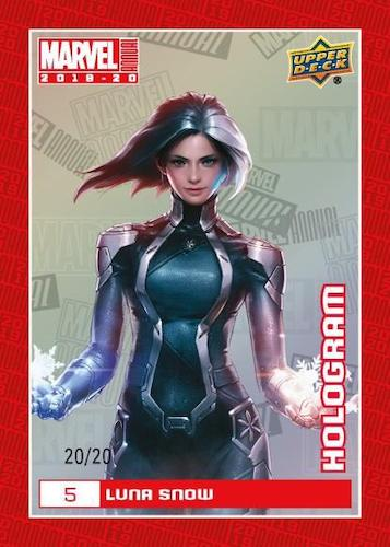 2019-20 Upper Deck Marvel Annual Trading Cards 4