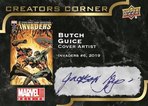 2019-20 Upper Deck Marvel Annual Trading Cards 10