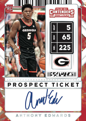 2020-21 Panini Contenders Draft Picks Basketball Cards 7