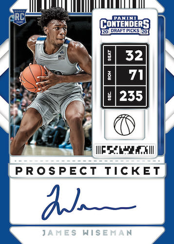 2020-21 Panini Contenders Draft Picks Basketball Cards 6
