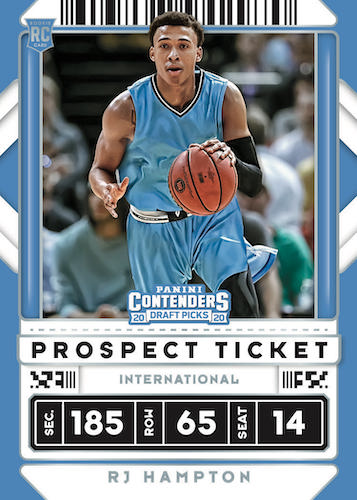 2020-21 Panini Contenders Draft Picks Basketball Cards 3