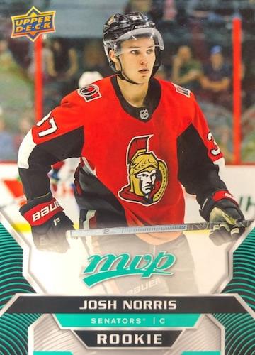 2020-21 Upper Deck MVP Hockey Cards - Rookie Redemption Checklist 9