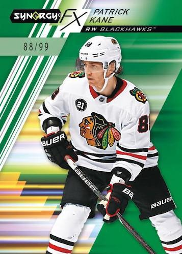 2020-21 Upper Deck Synergy Hockey Cards - Mystery Rookie Redemption Checklist 6