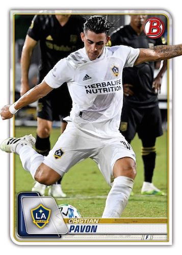 2020 Bowman MLS Soccer Cards 1