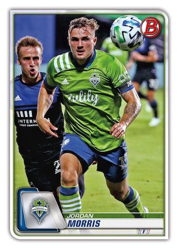 2020 Bowman MLS Soccer Cards 2