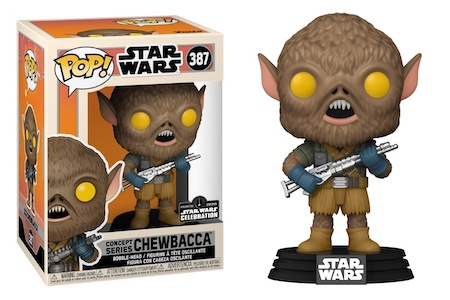 2020 Funko Pop Star Wars Celebration Galactic Convention Exclusives 13