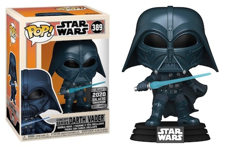 2020 Funko Pop Star Wars Celebration Galactic Convention Exclusives 15