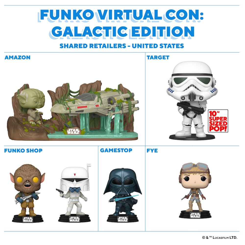 Funko Pop 2020 Star Wars Christmas 2020 Funko Pop Star Wars Celebration Exclusives Checklist, Shared List