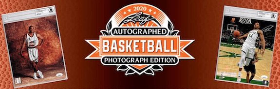 2020 Leaf Autographed Basketball Photograph Edition 1