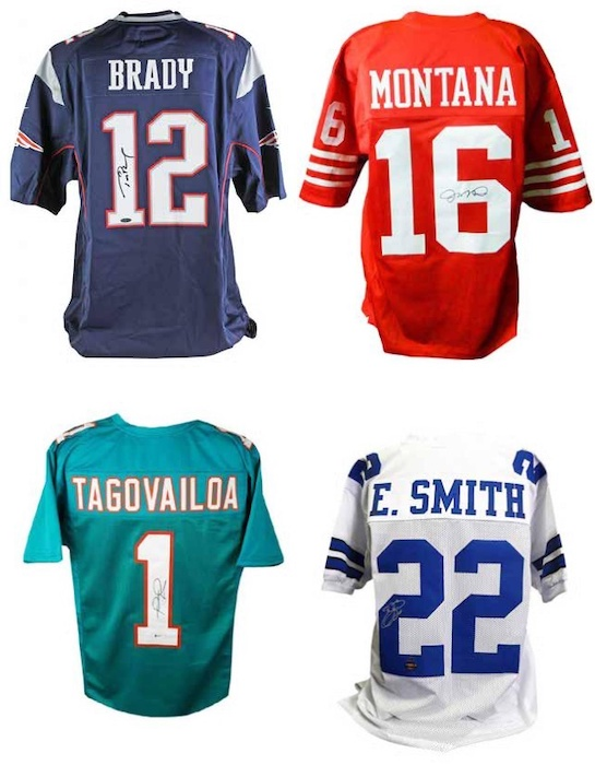 2020 Leaf Autographed Football Jersey Edition 3