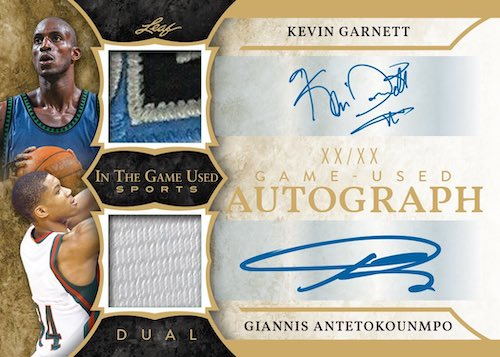 2020 Leaf In the Game Used Sports Multi-Sport Cards 7
