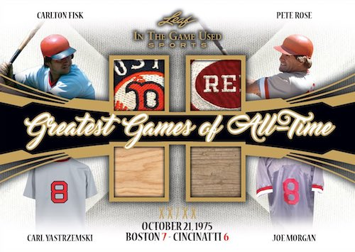 2020 Leaf In the Game Used Sports Multi-Sport Cards 5
