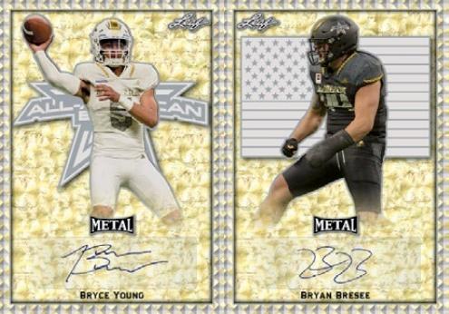 2020 Leaf Metal All-American Bowl Football Cards 3