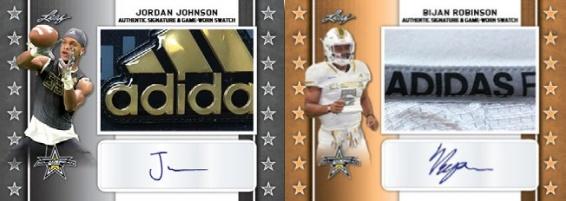 2020 Leaf Metal All-American Bowl Football Cards 4