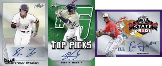 2020 Leaf Metal Draft Baseball Cards 4