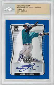 2020 Leaf Metal Draft Baseball Cards 5
