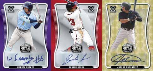 2020 Leaf Metal Draft Baseball Cards 3