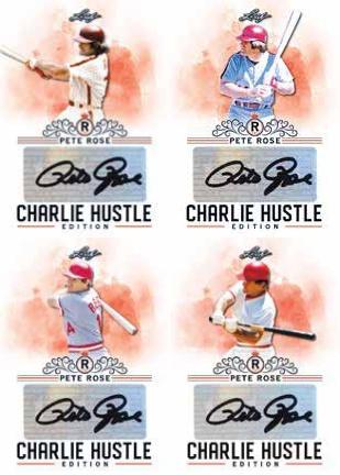 2020 Leaf Pete Rose Charlie Hustle Edition Baseball Cards - Checklist Added 4