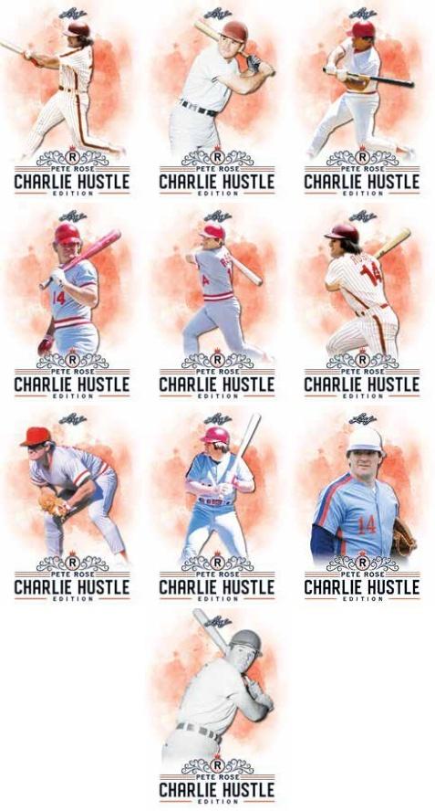 2020 Leaf Pete Rose Charlie Hustle Edition Baseball Cards - Checklist Added 3