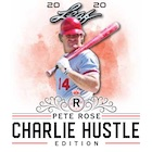 2020 Leaf Pete Rose Charlie Hustle Edition Baseball Cards - Checklist Added