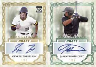 2020 Leaf Ultimate Draft Baseball Cards 3