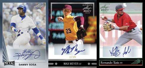 2020 Leaf Ultimate Draft Baseball Cards 5