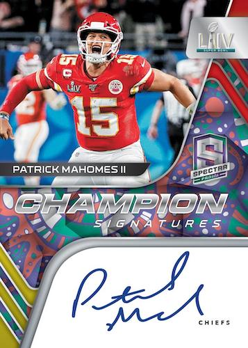 2020 Panini Spectra Football Cards 8