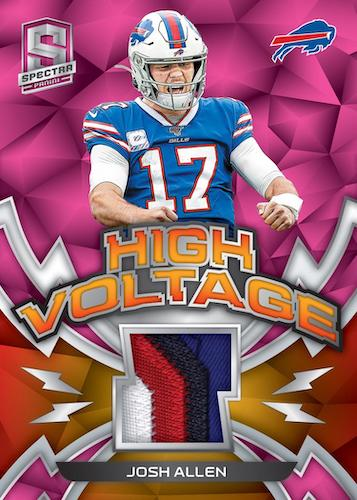2020 Panini Spectra Football Cards 10