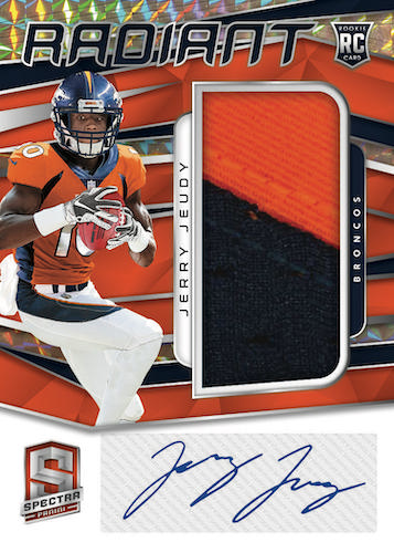 2020 Panini Spectra Football Cards - Checklist Added 7