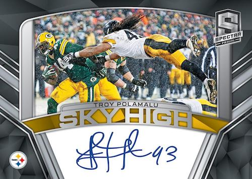 2020 Panini Spectra Football Cards - Checklist Added 9