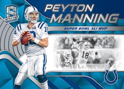 2020 Panini Spectra Football Cards - Checklist Added 5