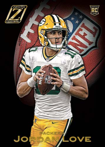 2020 Panini Zenith Football Cards 3