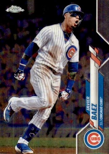 2020 Topps Chrome Baseball Variations Refractor Gallery 44